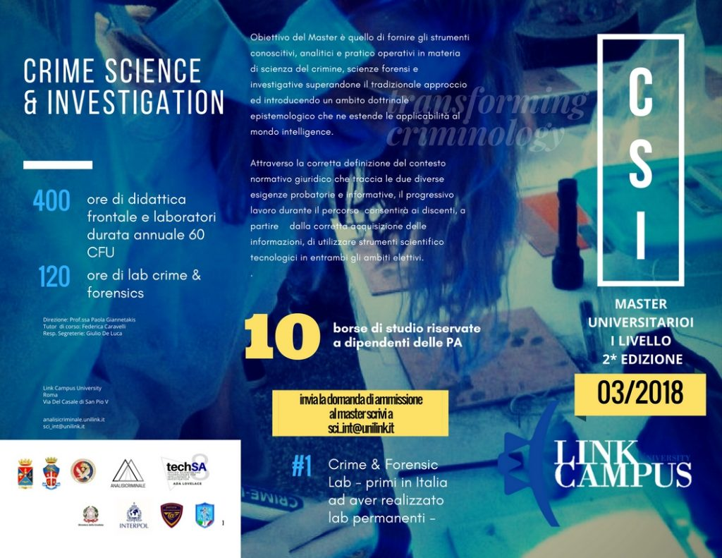 CRIME FORENSIC LAB